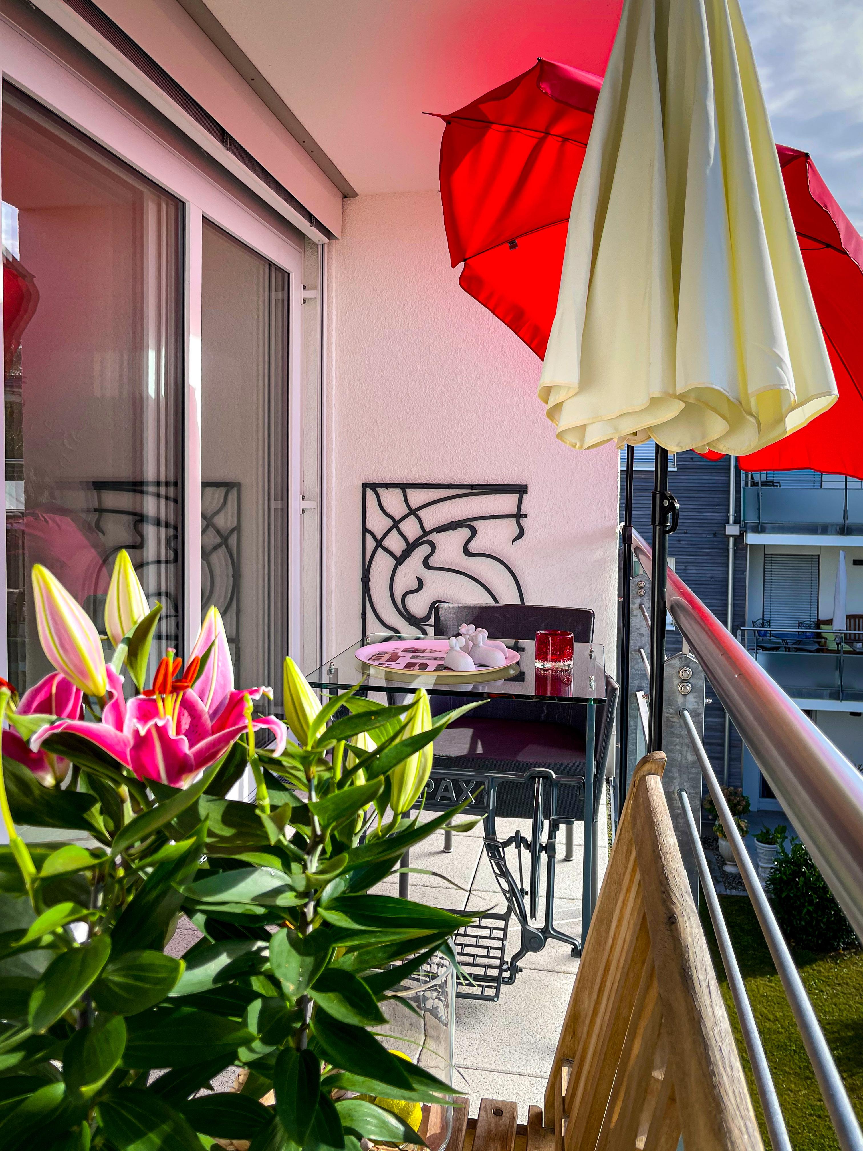 Meersburg, 2Zi.-App., Balkon - links