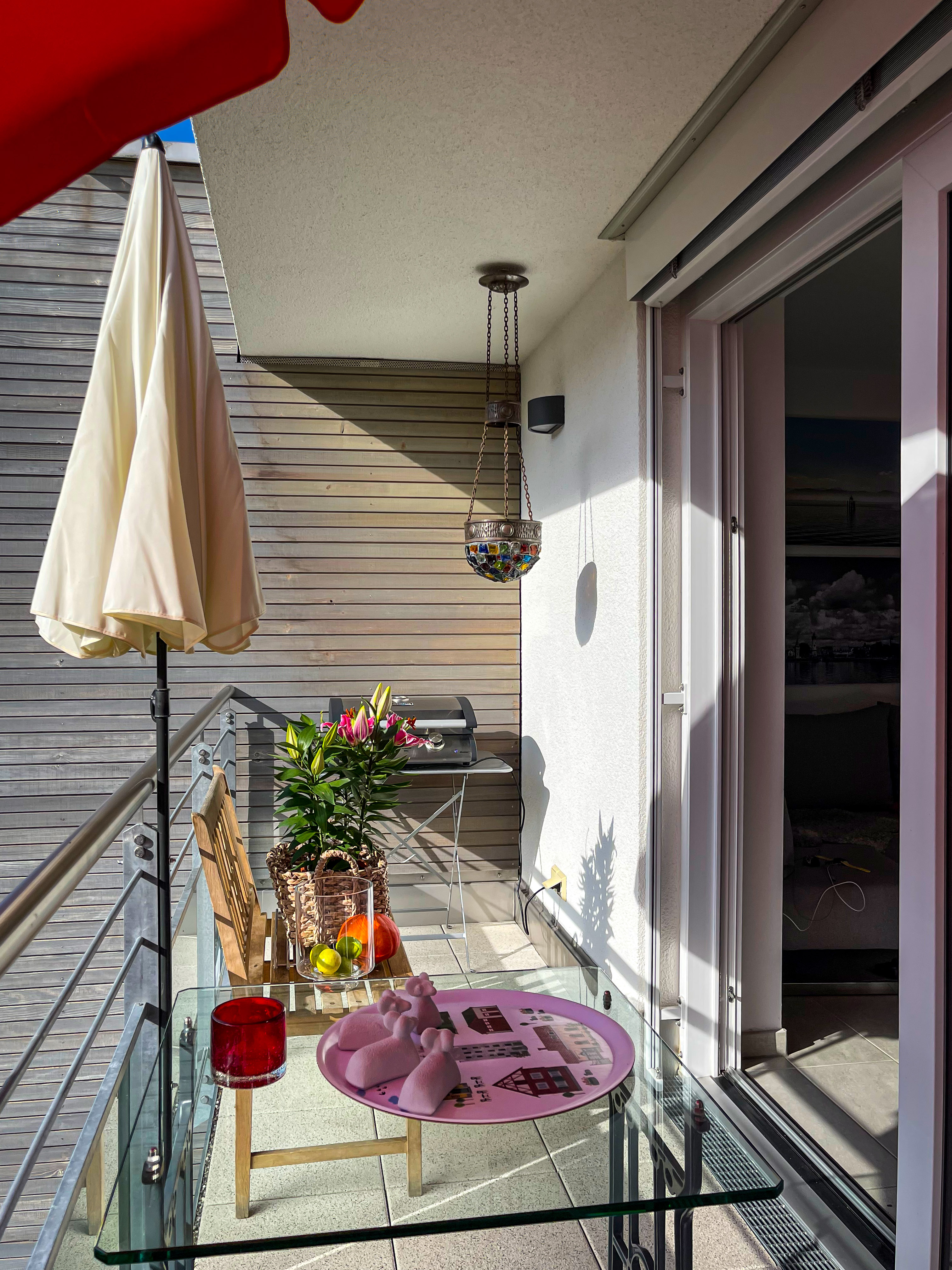 Meersburg, 2Zi.-App., Balkon - rechts